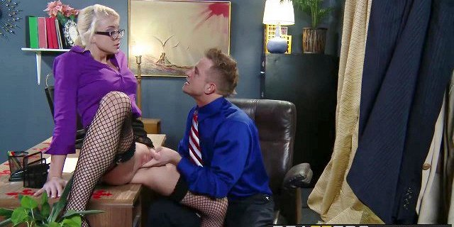 brazzers big tits at work defiance in the office scene s