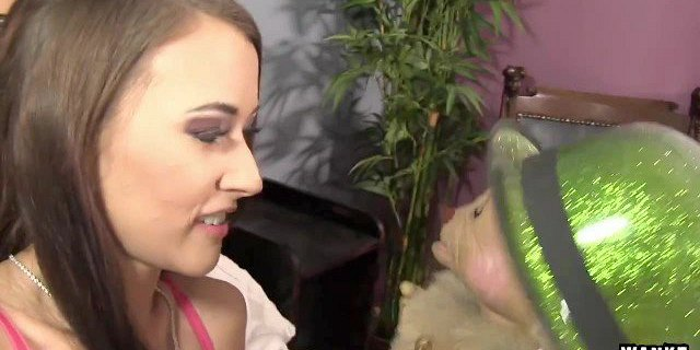 wankz horny alexis grace makes a wish for dick