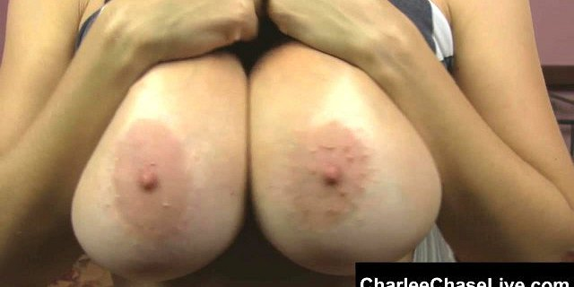 beautiful milf charlee chase fondles her huge tits