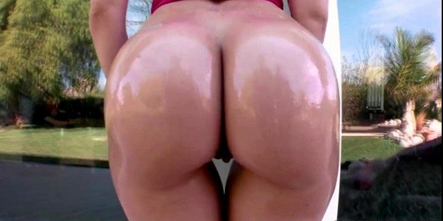 oiled big ass anikka albrite rides hard cock