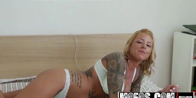 mofos pervs on patrol britney shannon staying in to ge