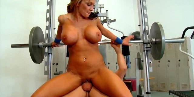 busty babe gets a hardcore workout