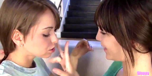 riley reid and holly michaels spitting